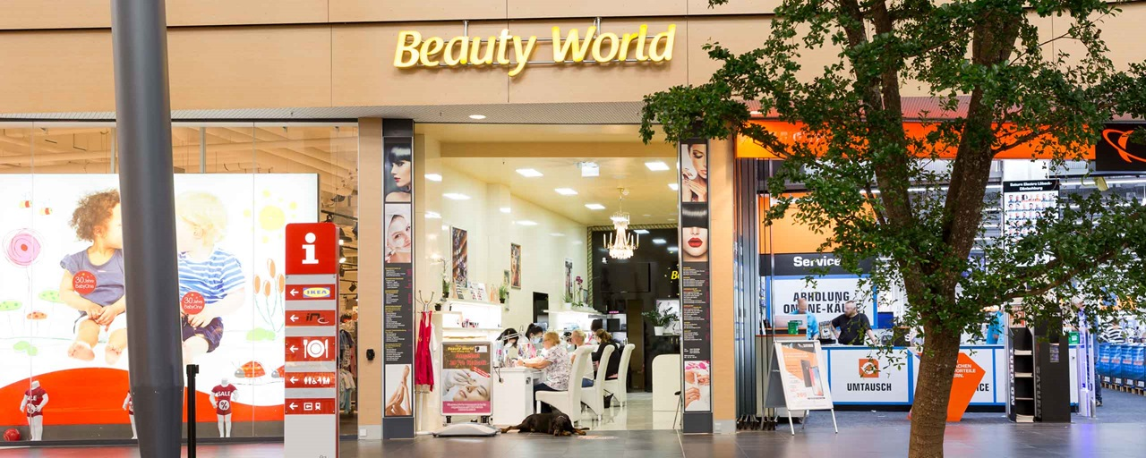 Beauty World im LUV SHOPPING in Lübeck