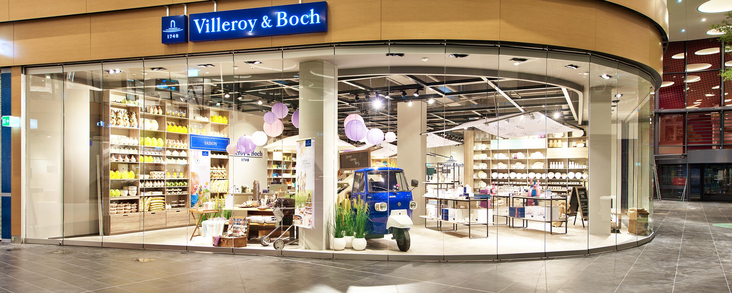 Villeroy & Boch im LUV SHOPPING in Lübeck