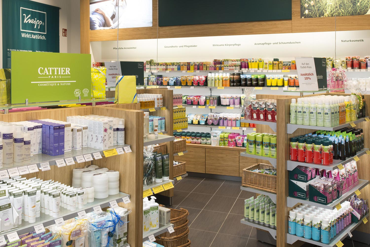 Kneipp im LUV SHOPPING in Lübeck